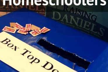 Box tops for homeschoolers