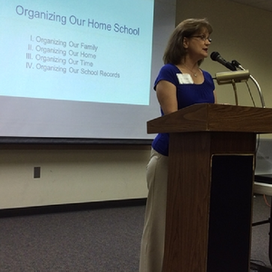 Kathy Roggow, MPE homeschool workshop