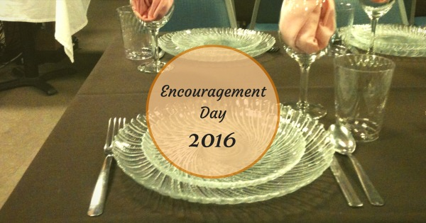 Encouragement Day 2016