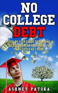 no college debt