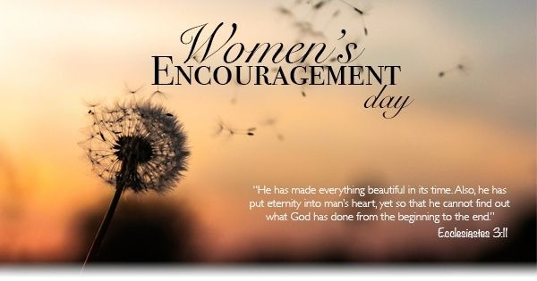 women's encouragement day 2020